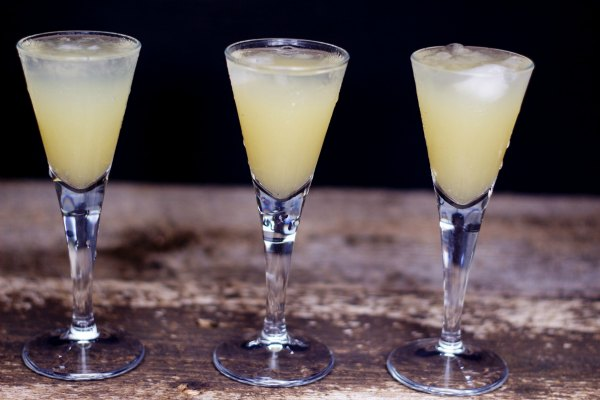 Pear on Fire Drink Recipe