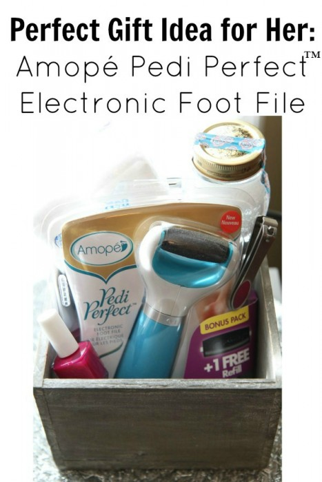 Perfect Gift Idea for Her:  Amopé Pedi Perfect™ Electronic Foot File