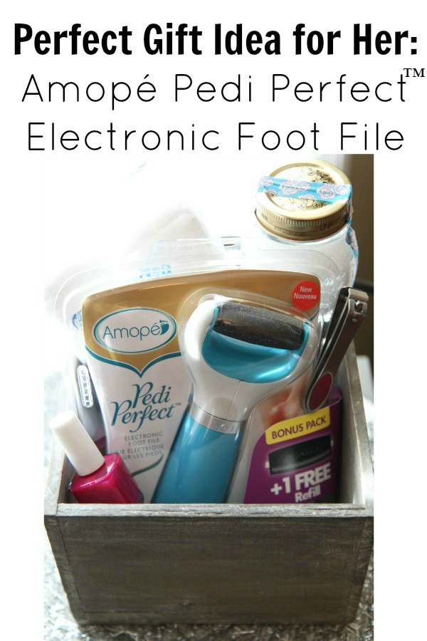 Perfect Gift Idea for Her  Amope Pedi Perfect Electronic Foot File