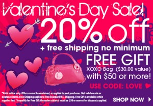 Perfumania 300x208 Perfumania.com: 20% Off Valentines Day Sale, $10 Off $50 Coupon, Free Shipping Orders $50+, Plus Free Gift