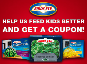 Picture 1013 300x221 $0.50/1 Birds Eye Printable Coupon = FREE Veggies