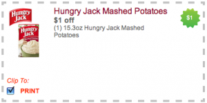 Picture 109 300x150 $1/1 Hungry Jack Mashed Potatoes Coupon