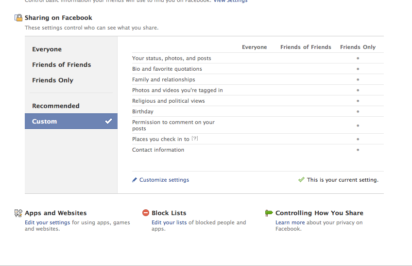 Picture 1311 Reader Question: How to Like Companies on Facebook while Blocking Profile Access