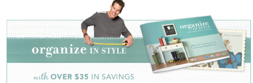 Organize in Style $35 Coupon Booklet via Mail