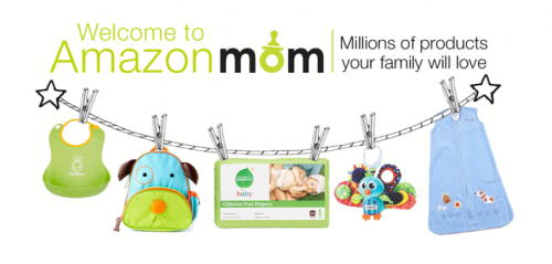 Amazon Mom: Save up to 30% on Diapers and Wipes + Free Prime Shipping for 3 Months