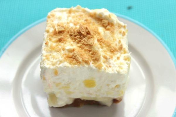 Pineapple Delight Dream Dessert - Yum