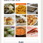 Pinterest Meal Plan