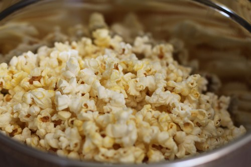 Popcorn in Good Cook Mixing Bowl