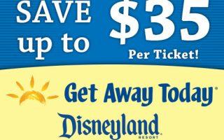 Disneyland: Save up to $35/Ticket thru 2/20