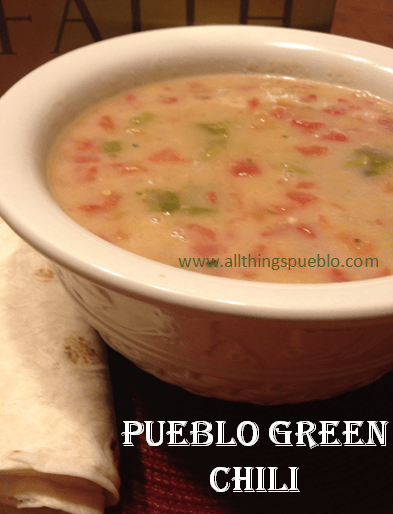 Pueblo Green Chili Recipe