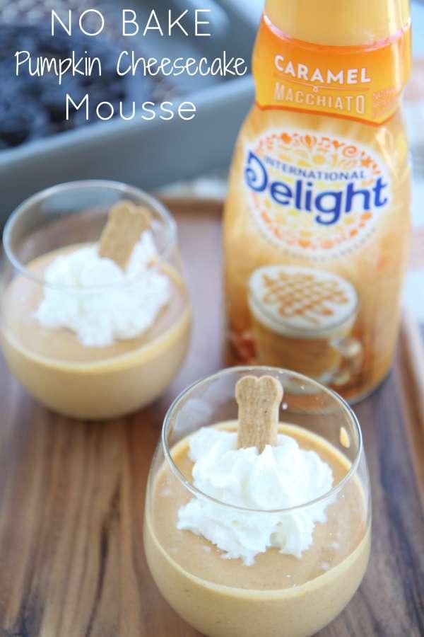 Pumpkin Cheese Mousse Recipe