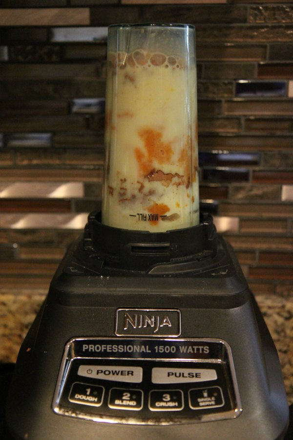 Pumpkin Chocolate Smoothie in Ninja