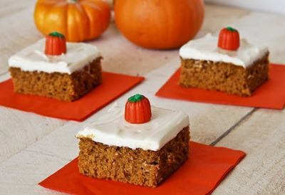 Pumpkin Cream Cheese Bars 3