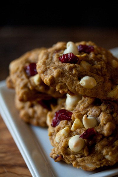 Pumpkin-Oatmeal-Cookies