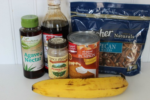 Pumpkin Pie Smoothie Ingredients