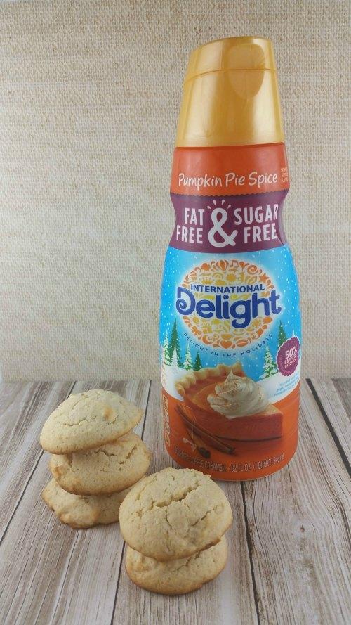 Pumpkin Pie Spice Sugar Cookies with International Delight