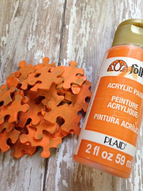 Pumpkin Puzzle Paint
