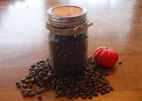 Pumpkin Spice Latte Sugar Scrub Gift in a Jar