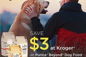 Kroger Offer: Save $3 on Purina® Beyond® Dog Food