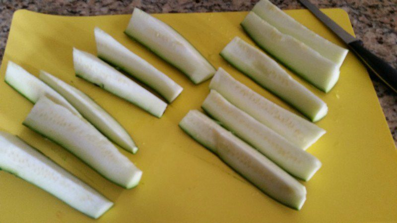 Quarter Zucchini