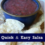 Quick and Easy Salsa Recipe via BargainBriana