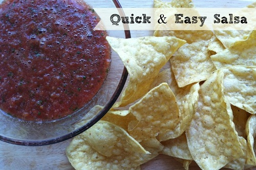Quick and Easy Salsa Recipe