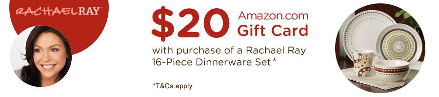 Rachel Ray Dinner Ware Deal