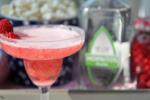 Raspberry Blended Margarita