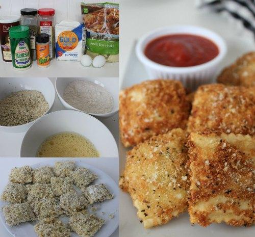 Recipe Copycat Olive Garden Toasted Ravioli