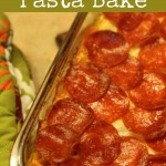 Recipe for Pepperoni Pasta Bake