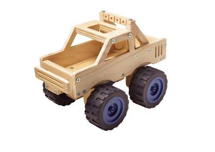 Red Tool Box Monster Truck
