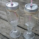 Redneck Wine Glasses - DIY Gift Idea