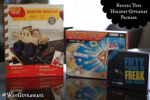Reeves Toy Holiday Giveaway Package Reeves International Toy Holiday Giveaway | #WinGiveaways