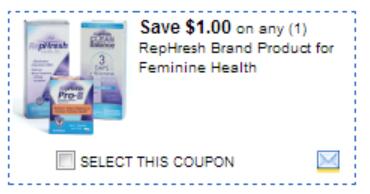 RepHresh Dollar General: Free Rephresh Tampons