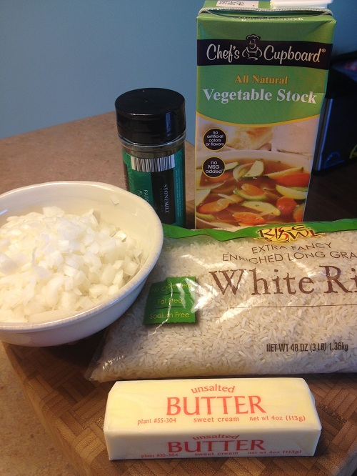 Rice Pilaf Ingredients