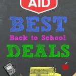 Rite Aid Best Back to School Deals
