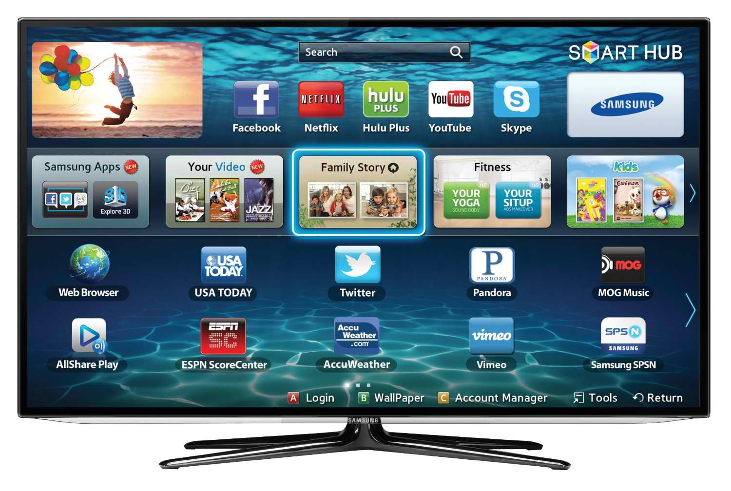 Samsung Smart Led Tv : Samsung Smart TV Price Drops: Samsung 46″ 3D Slim LED HDTV $897 ...