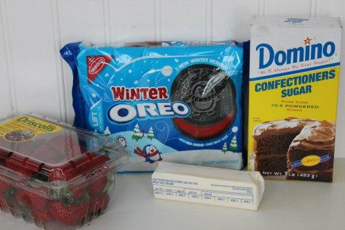 Santa Hat Ingredients