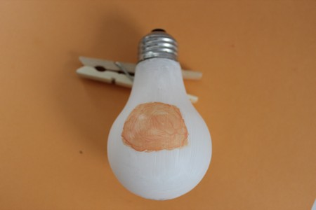 Santa Light Bulb Project