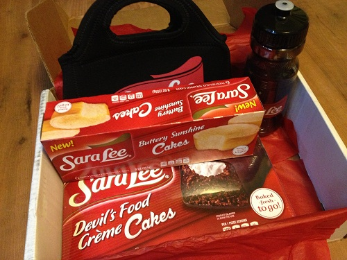 Sara Lee Giveaway Package