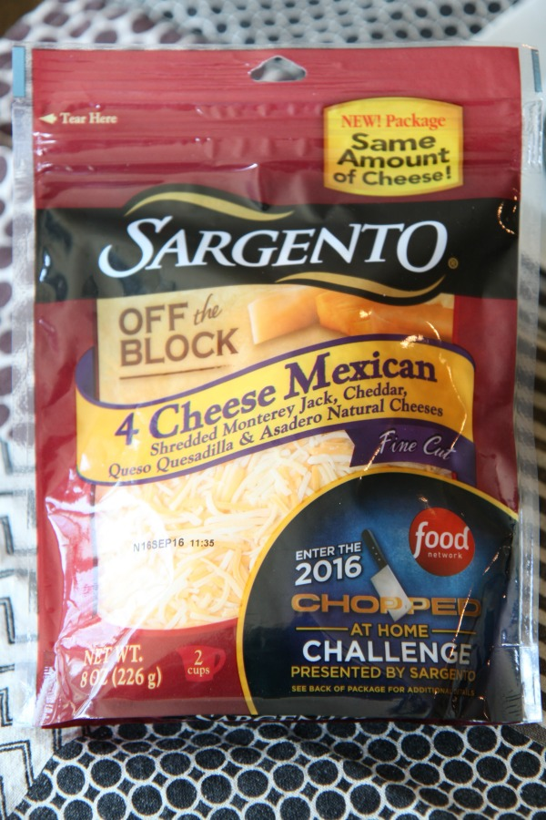 Sargento 4 Cheese Mexican Blend