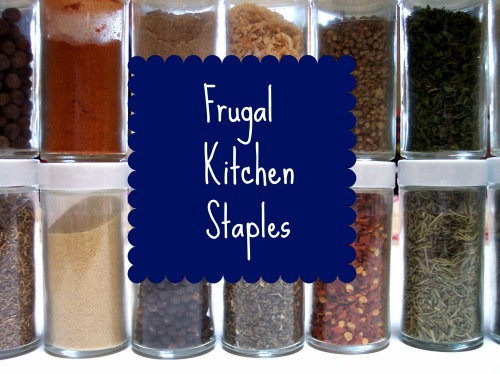 Save Money by Stocking Your Pantry with these Kitchen Staples