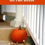 Save Money on Fall Decorating