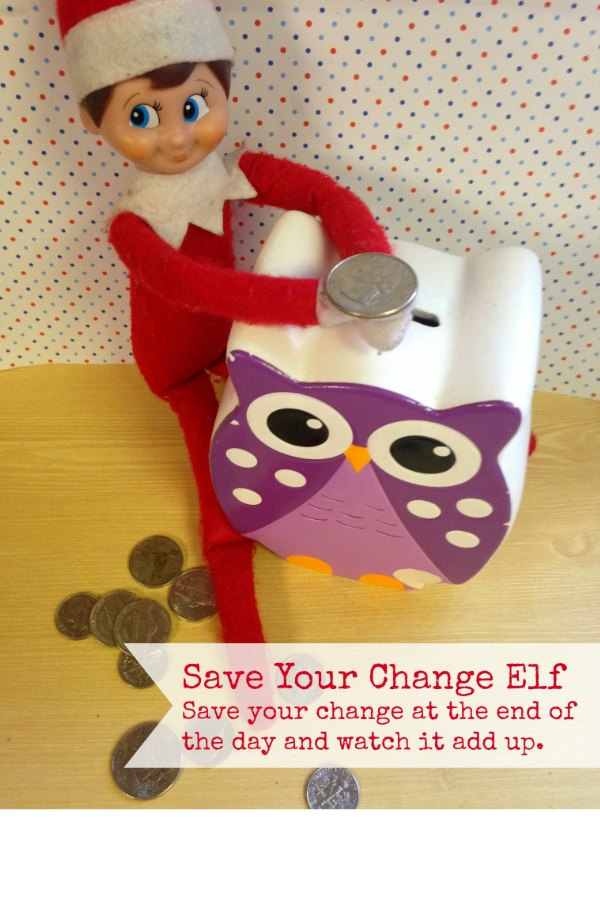 Save Your Change Elf via Bargain Briana