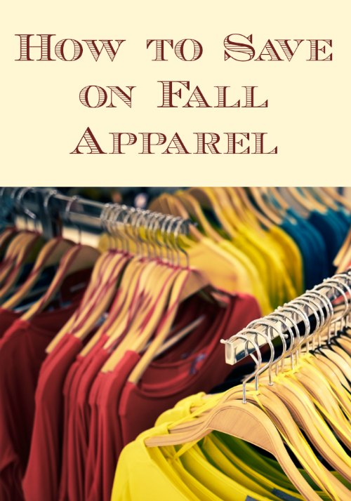 Save on Fall Apparel