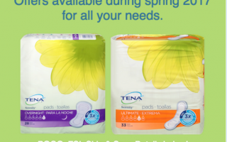Save on TENA®incontinence products at CVS