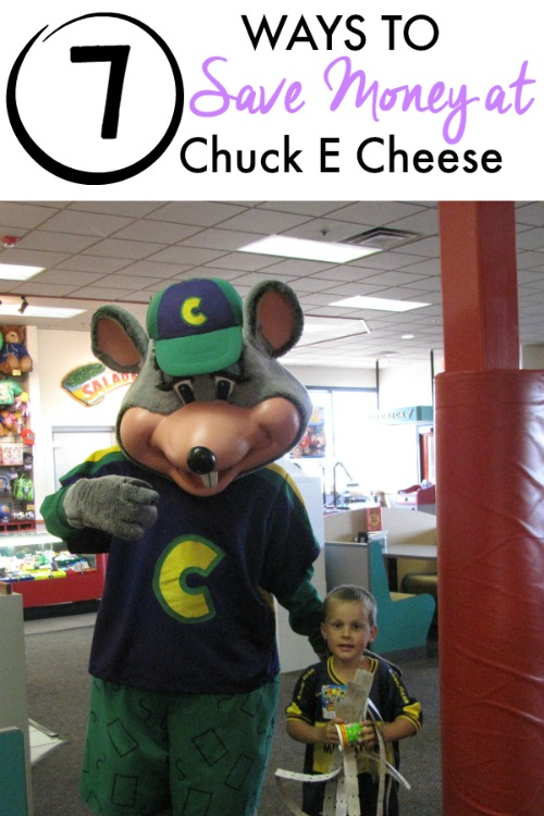 Saving Money at Chuck E Cheese