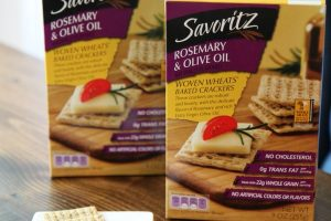 Savoritz Rosemary Olive Oil Crackers