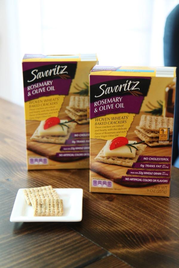 Savoritz Rosemary Olive Oil Crackers