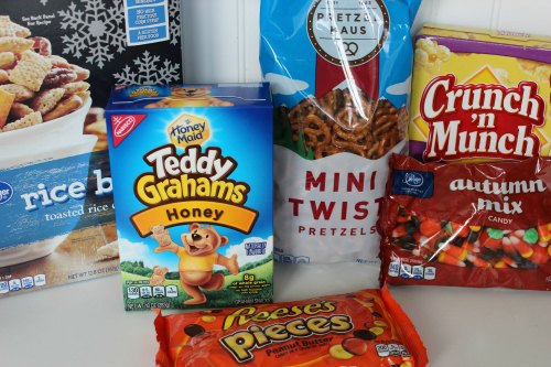 Scarecrow Snack Mix Ingredients